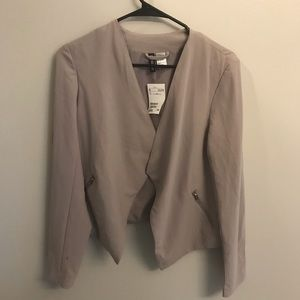 **NEW** grey/brown casual blazer (size 8) ✨